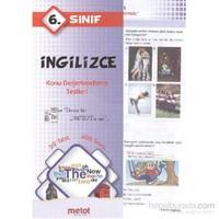Metot 6. Sınıf İngilizce Konu Değerlendirme Testleri