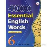 4000 Essential English Words 6 With Answer Key-İngilizce'De 4000 Temel Kelime-Paul Nation