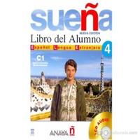 Sueña 4 C1 Libro del Alumno +2 CD (İspanyolca ileri Seviye Ders Kitabı +2 CD)