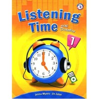 Listening Time 1 with Dictation +MP3 CD - Jenna Myers