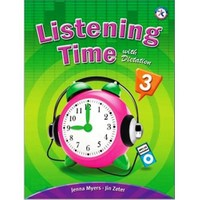 Listening Time 3 with Dictation +MP3 CD