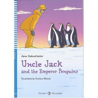 Eli Uncle Jack And The Emperor Penguins - Stage 3 + Cd / Young Eli Readers