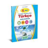 Zambak Yayınları 6. Sınıf Türkçe Soru Bankası