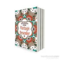 Büyükler İçin Boyama Kitabı Seti - 4 Kitap Takım