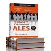 Pegem ALES Eşit Ağırlık ve Sayısal Adaylar için Set (3 Kitap)