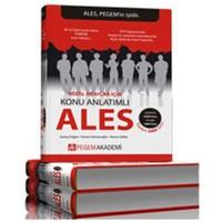 Pegem ALES Sözel Adaylar için Set (3 Kitap)