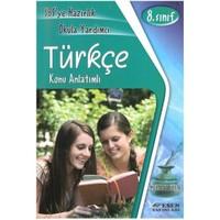 Esen 8.Sınıf Türkçe Sbs'ye Hazırlık Okula Yardımcı Konu Anlatımlı