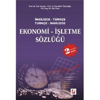 Ekonomi İşletme Sözlüğü