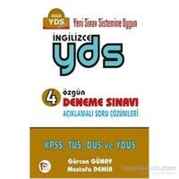Pelikan İngilizce YDS 4 Özgün Deneme Sınavı