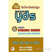 Pelikan Yds İngilizce 6 Özgün Deneme Sınavı-Mustafa Demir