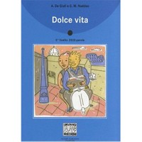 Dolce Vita +Cd (İtalyanca Okuma Kitabı Orta-Üst Seviye) B1-B2-Alessandro De Giuli