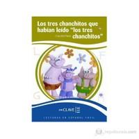Los Tres Chanchitos Que Habian Leido -Los Tres Chanchitos- (Leef Nivel-1) 7-10 Yaş İspanyolca Okuma Kitabı-Cecilia Pisos