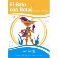 El Gato con Botas (LEEF Nivel-3) 7-10 yaş İspanyolca Okuma Kitabı