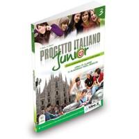 Progetto İtaliano Junior 3 (Ders Kitabı Ve Çalışma Kitabı+Cd) İtalyanca Orta Seviye-T. Marin