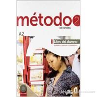 Método 2 Libro del Alumno A2 +2 CD (İspanyolca orta-alt Seviye Ders Kitabı +2 CD)