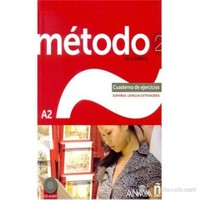 Método 2 Cuaderno de Ejercicios A2 +CD (İspanyolca orta-alt Seviye çalışma Kitabı +CD)