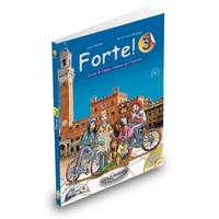 Forte 3 (Kitap+CDROM+CD) İtalyanca Orta-alt Seviye 7-11 yaş A2