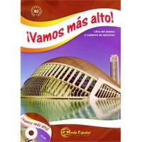 Vamos Más Alto (Ders Kitabı ve Çalışma Kitabı +CD) İspanyolca İleri Seviye - Margarita Görrissen