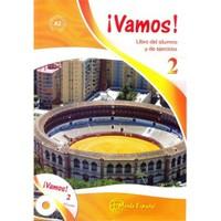 Vamos 2 (Ders Kitabı ve Çalışma Kitabı +CD) İspanyolca Alt-Orta Seviye