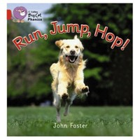 Run, Jump, Hop (Big Cat Phonics-2A Red)