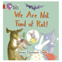 We Are Not Fond Of Rat! (Big Cat Phonics-2B Red)