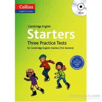 Cambridge English Starters +MP3 CD - Three Practice Tests - Barbara Mackay
