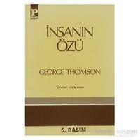 İnsanın Özü-George Thomson