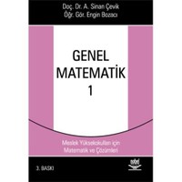 Genel Matematik 1 - Myo'lar İçin