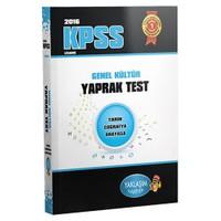 Yaklaşım Kpss 2016 Genel Kültür Yaprak Test