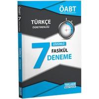 Yaklaşım Yayınları Öabt 2016 Türkçe Öğretmenliği Çözümlü 7 Deneme