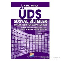 Üds Sosyal Bilimler - English Tests For Social Sciences