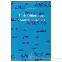 Türk Dillerinde Akrabalık Adları-Yong-Song Li