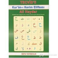 Tecvid'Li Kur'An-I Kerim Elifbası (Renkli Bilgisayar Hattı) - Ali Haydar