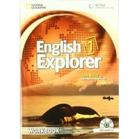 Heinle English Explorer 1 Workbook + Cd