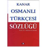 Osmanlı Türkçesi Sözlüğü (Ciltli)