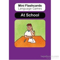 Mini Flashcards Language Games: At School (Pack of 40 Flashcards)