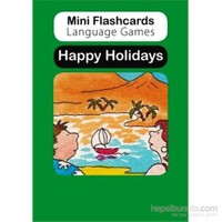 Mini Flashcards Language Games: Happy Holidays (Pack Of 40 Flashcards)-Susan Thomas