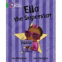 Ella The Superstar (Big Cat-5 Green)