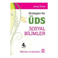 Strategies For Üds (Sosyal Bilimler)