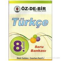 Özdebir 8.Sınıf Türkçe Soru Bankası