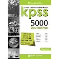 Pegem KPSS Genel Yetenek Genel Kültür 5000 Soru Bankası 2012
