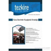 Tezkire Sayı - 49 Haziran, Temmuz, Ağustos