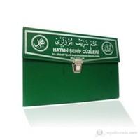 Kur'an-ı Kerim 30 Cüz Hatim Seti (Hafız Boy, Çantalı, Yeşil Kapak, Kod: 111)