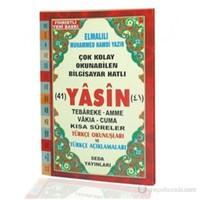 Yasin Tebareke Amme Türkçe Okunuş ve Meali (Rahle Boy, Kod: 113)