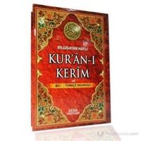 Bilgisayar Hatlı Kur'an-ı Kerim ve Renkli Türkçe Okunuşu (Orta Boy, Kod: 131)
