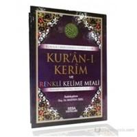 Kur'an-ı Kerim ve Renkli Kelime Meali (Cami Boy, Kod: 140) (Transkripsiyonlu Türkçe Okunuşu ile Bir