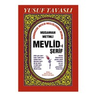 Musahhah Metinli Mevlid-i Şerif