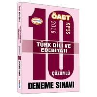 Yediiklim Öabt 2016 Türk Dili Ve Edebiyatı Öğretmenliği Çözümlü 10 Deneme Sınavı