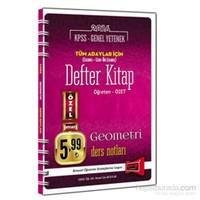 Yargı Kpss Genel Yetenek Tüm Adaylar İçin Defter Kitap Geometri Ders Notları 2016