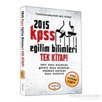 Yediiklim 2015 Kpss Eğitim Bilimleri Tek Kitap